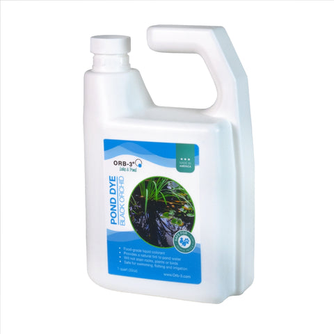 Orb-3 Liquid Pond Dye, Blue, 1-Gallon P705-010-1G