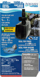 EasyPro AP400 Aquasis AD47400 Submersible Statuary Water Fall, Fountain, Pond, Pump, 400 gph