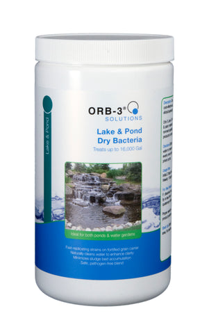 Orb-3 Lake & Pond Dry Bacteria