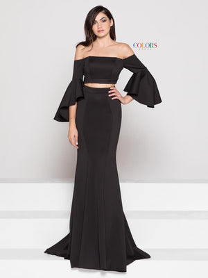 Off the Shoulder Scuba Dress