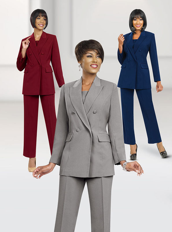 Double Breasted Pant Suit
