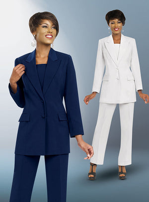 Two Button Pant Suit