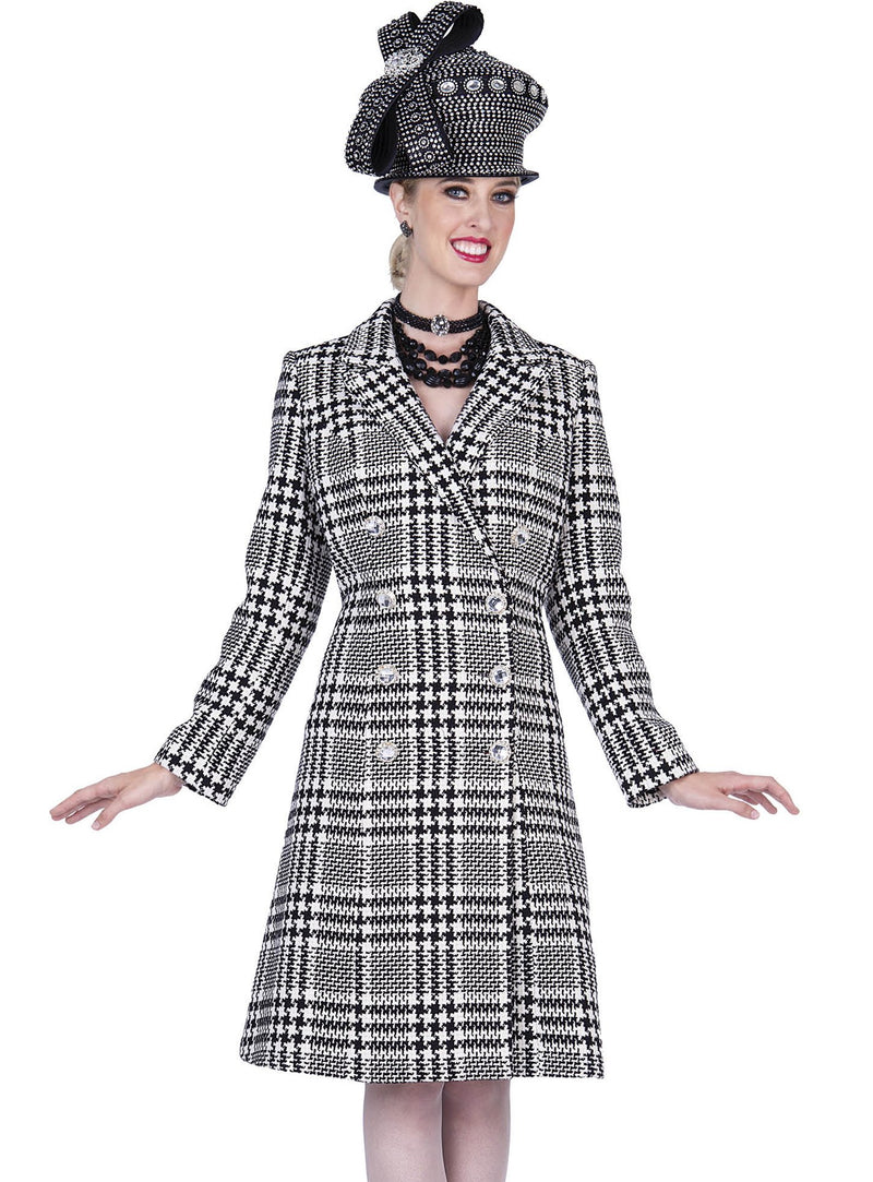 Houndstooth Coat Dress