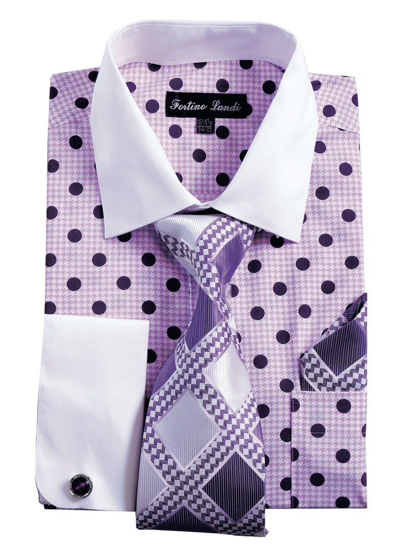 Men's Polka Dot Shirt