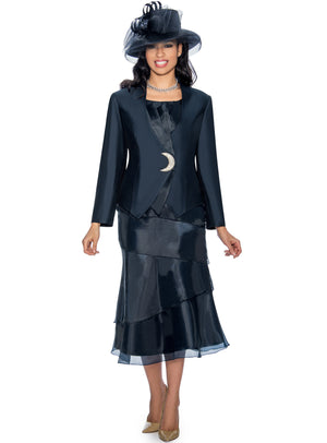 Celestial Layered Organza Suit