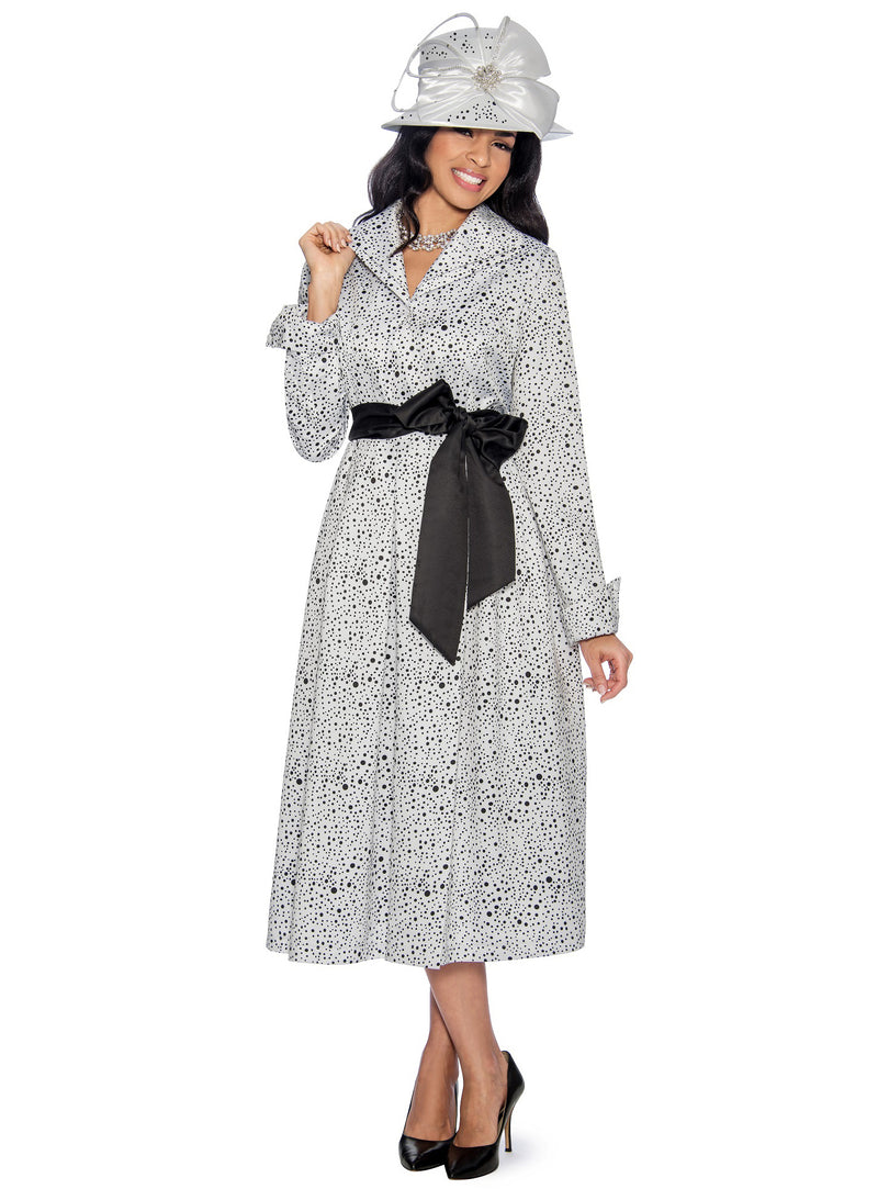 Sprinkled Dot Wrap Dress