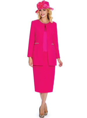 Stretch Basket Weave Suit