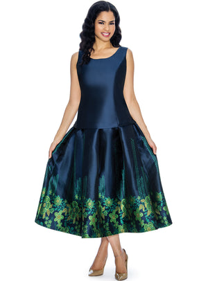 Peplum Garden Skirt Set
