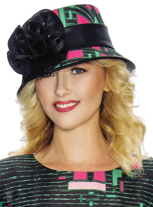 Free-Form Graphic Print Hat HD1349