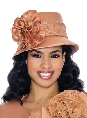 Dot Lace-Band Hat HG1081