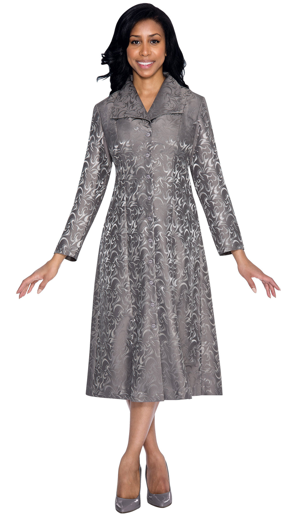 Brocade Group Dress
