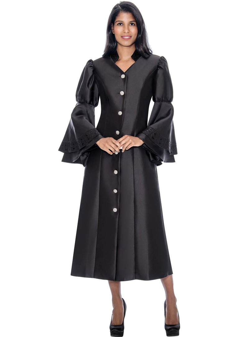 Puffed Sleeve Robe