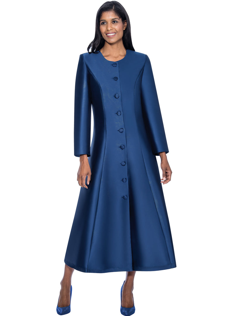 Simple Buttoned Choir Robe