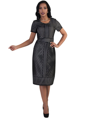 Shadow Stripe Dress 9494