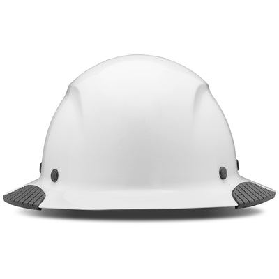 DAX Carbon White<br> Full Brim Hardhat