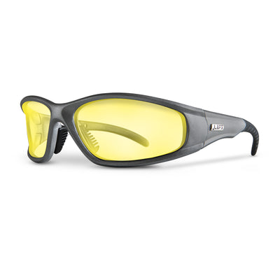 LIFT Safety - STROBE Safety Glasses - Silver - Safety Glasses