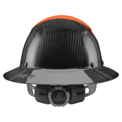 LIFT Safety - DAX Fifty 50 Carbon Fiber<br>Full Brim Hardhat - Hard Hat