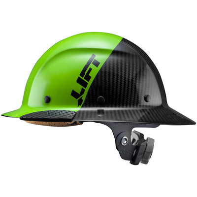 DAX Fifty 50 Carbon Fiber Full Brim Hardhat - LIFT Safety