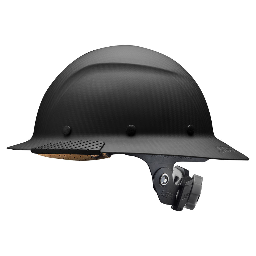 DAX Carbon Fiber<br>Full Brim Hardhat - LIFT Safety