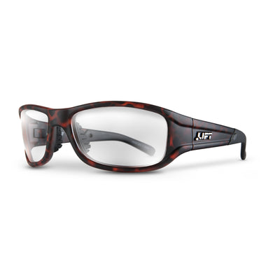 LIFT Safety - ALIAS Safety Glasses - Tortoise - Eye Wear