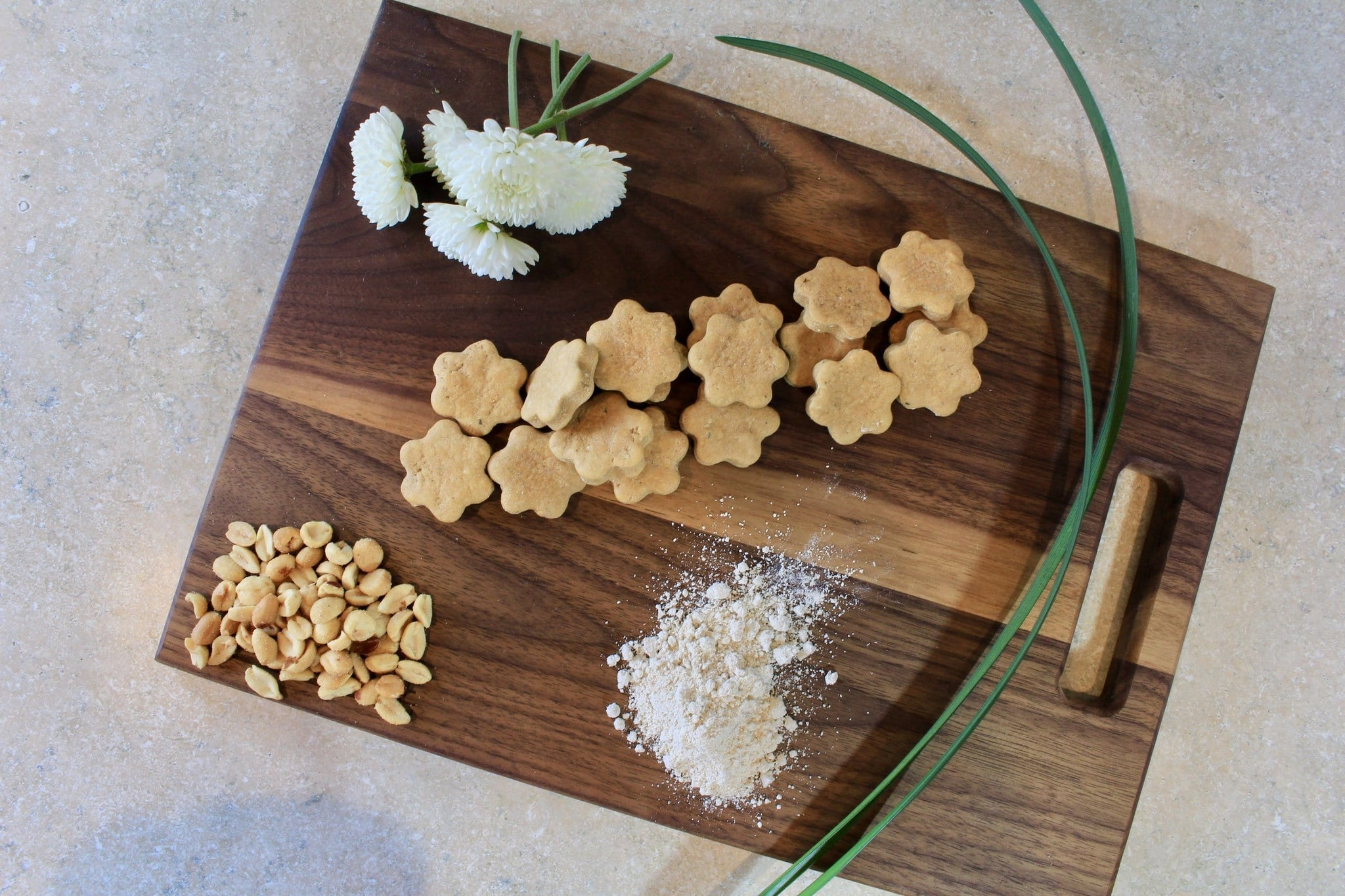Handmade CBD treats peanut butter and all organic ingredients