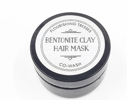 Bentonite Clay Co-Wash 2oz.