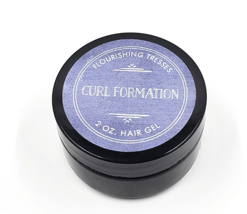 Trial/Travel Curl Formation Flaxseed Hair Gel 2oz.