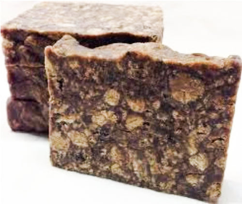 Raw African Black Soap 1 lb. Shampoo Bar