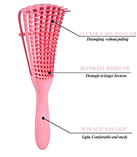 Detangling Flexi Wonderbrush