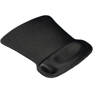 Allsop Ergoprene Gel Mouse Pad with Wrist Rest (Black) Mouse Pad