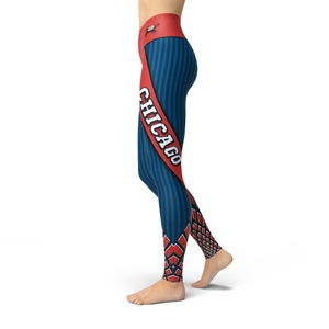 Beverly Chicago Baseball Leggings
