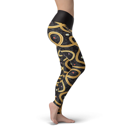 Image of Beverly Gold Chains Leggings