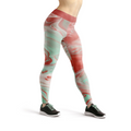 Beverly Pink Liquid Leggings