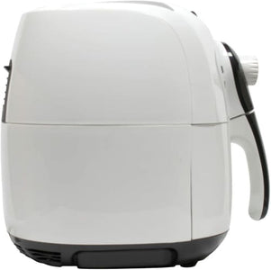 Brentwood Electric Air Fryer Timer & Temp. Control 3.6 Quart White Air Fryer