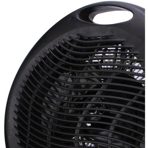 Brentwood Portable Electric Space Heater & Fan (Black) Heater