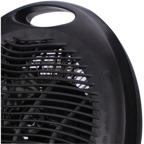 Image of Brentwood Portable Electric Space Heater & Fan (Black) Heater