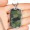 Camouflage Luxury Dog Tag Jewelry