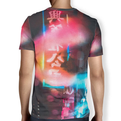Image of China Town Lights Men's T-shirt