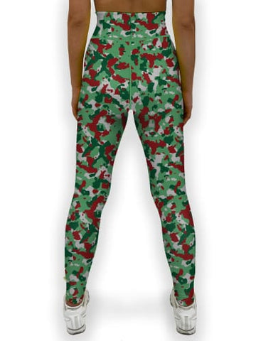 Image of Christmas Camo Jean Legging