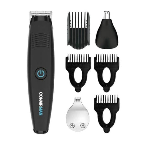 ConairMAN Lithium Ion Powered All-in-1 Men's Trimmer with No-Slip Grip Trimmer