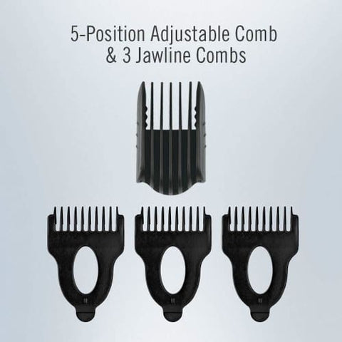 Image of ConairMAN Lithium Ion Powered All-in-1 Men's Trimmer with No-Slip Grip Trimmer