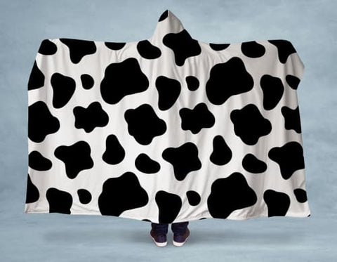 Cow Hooded Blanket 80x60 / Multicolored