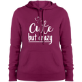 Cute But Crazy Hooded Sweatshirt Pink Rush / X-Small Sweatshirts
