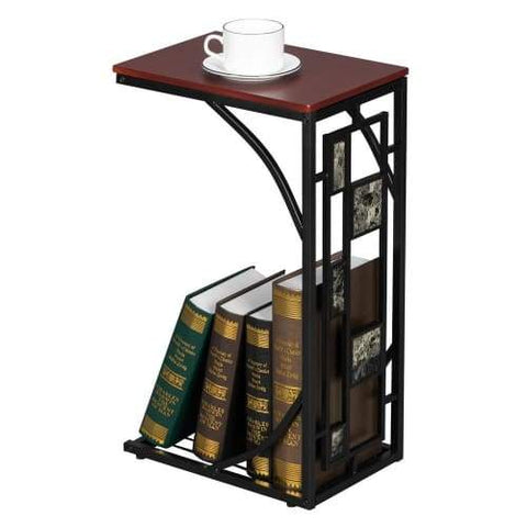 Iron Side End Table - Brown End Table