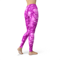 Jean Pink Batik Leggings