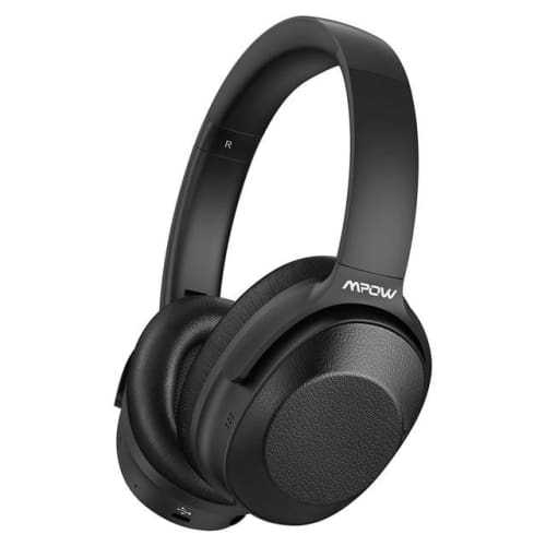 Mpow H12 Over the Ear Bluetooth Active Noise Canceling Headphone With HiFi Sound Deep Bass 30H Playtime Black-AH / United States Headphones