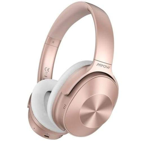 Image of Mpow H12 Over the Ear Bluetooth Active Noise Canceling Headphone With HiFi Sound Deep Bass 30H Playtime Pink / United States Headphones
