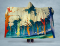 Mystic Forest Hooded Blanket 80x60 / Muliticolored