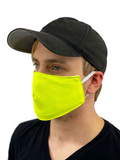 Neon Face Cover S / Neon Yellow