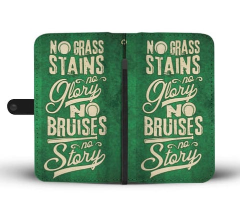 Image of No Grass Stains - Wallet Phone Case Wallet Case